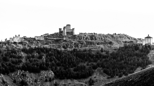 Rocca Calascio con 400mm