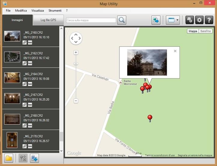 GPS canon 6D