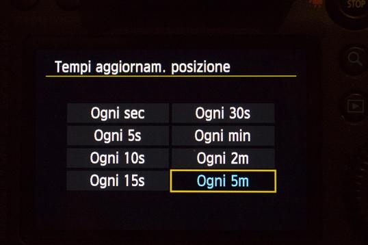 GPS Canon